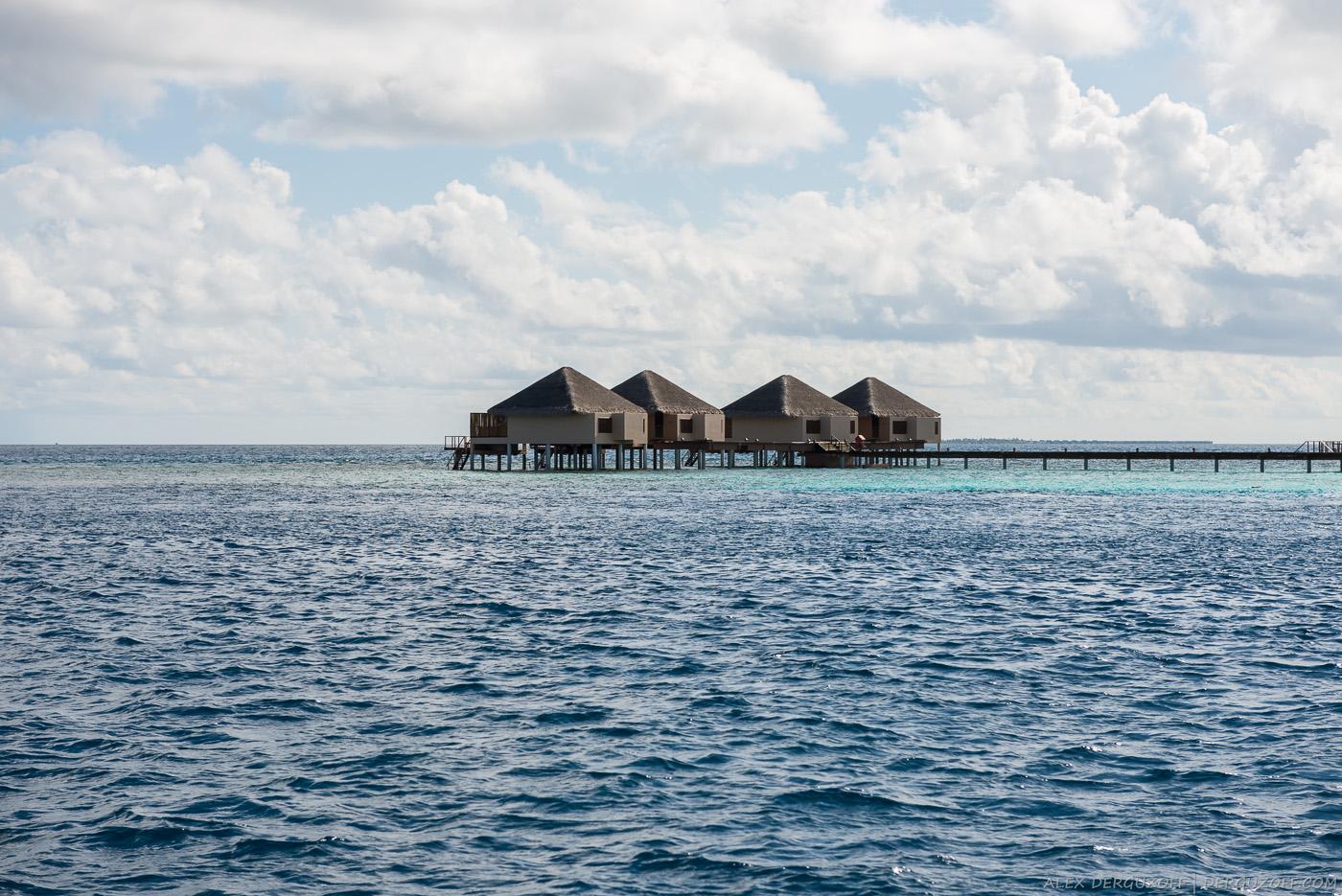 Дом на воде Мальдивы