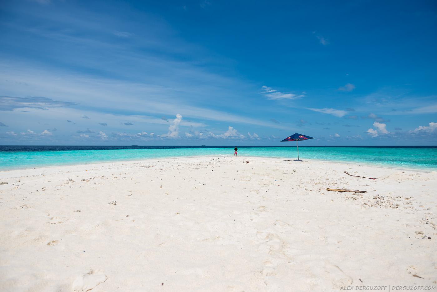 Песчаная коса Мальдивы Маафуши