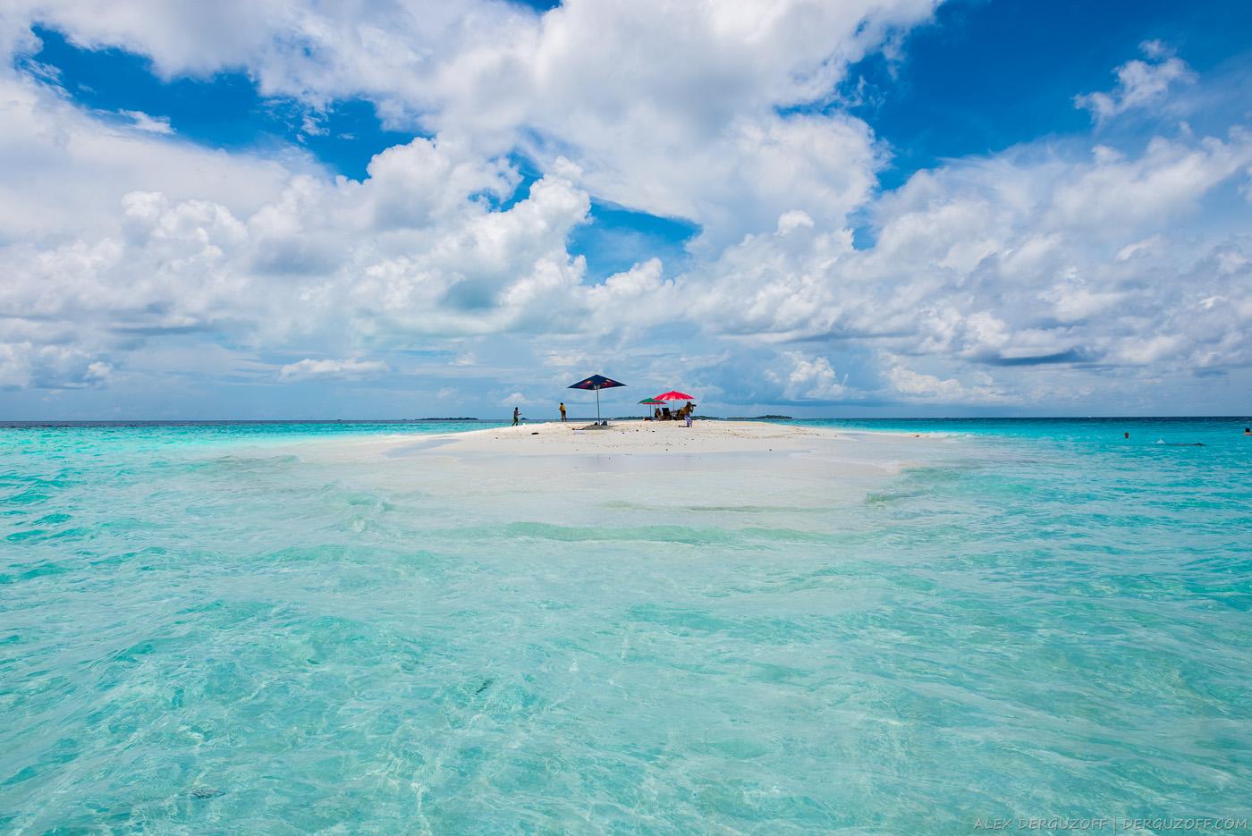 Пляж Мальдивы Маафуши