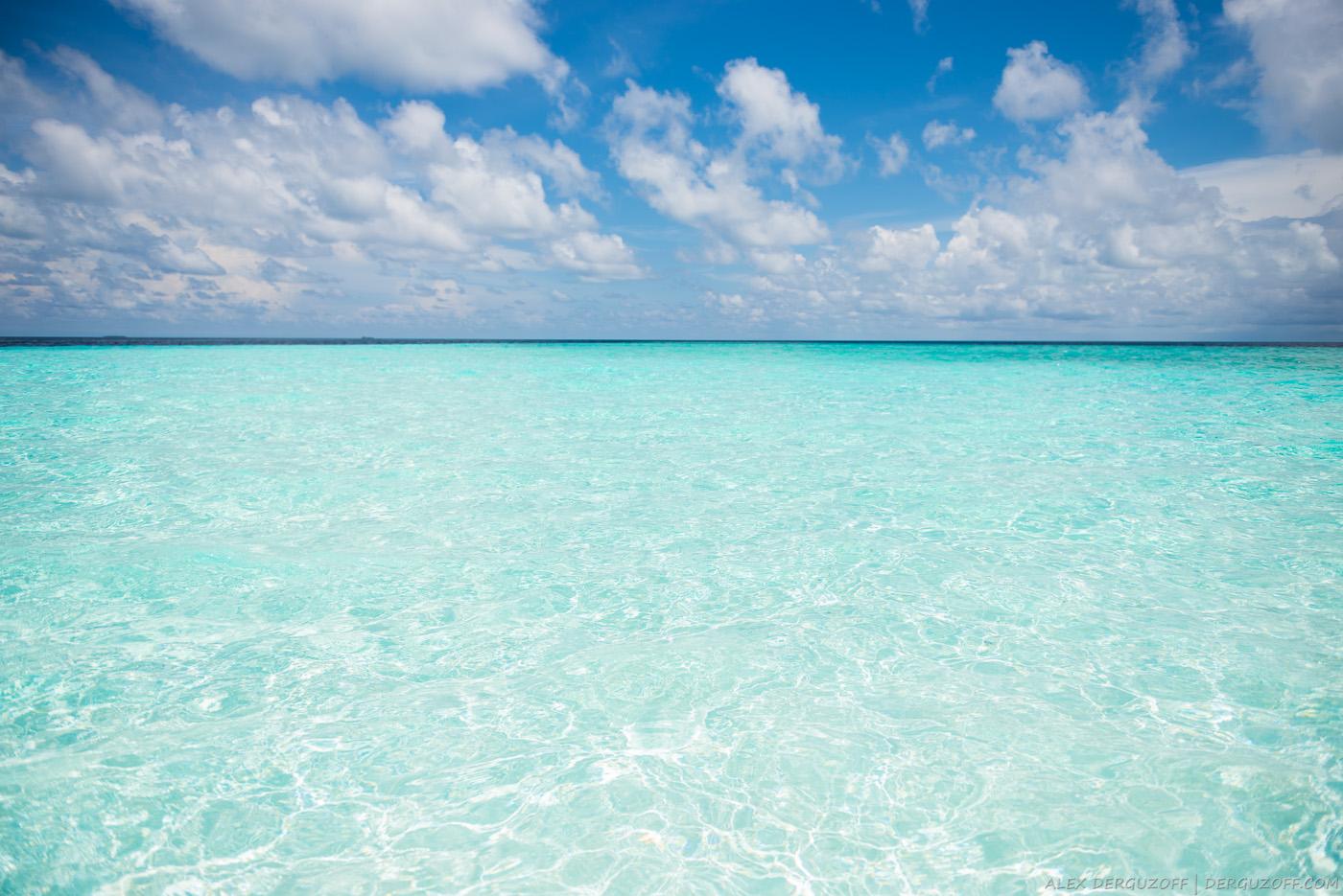 Море Мальдивы