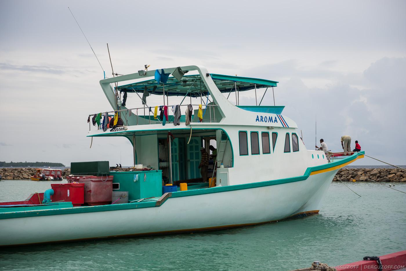 Лодка Мальдивы