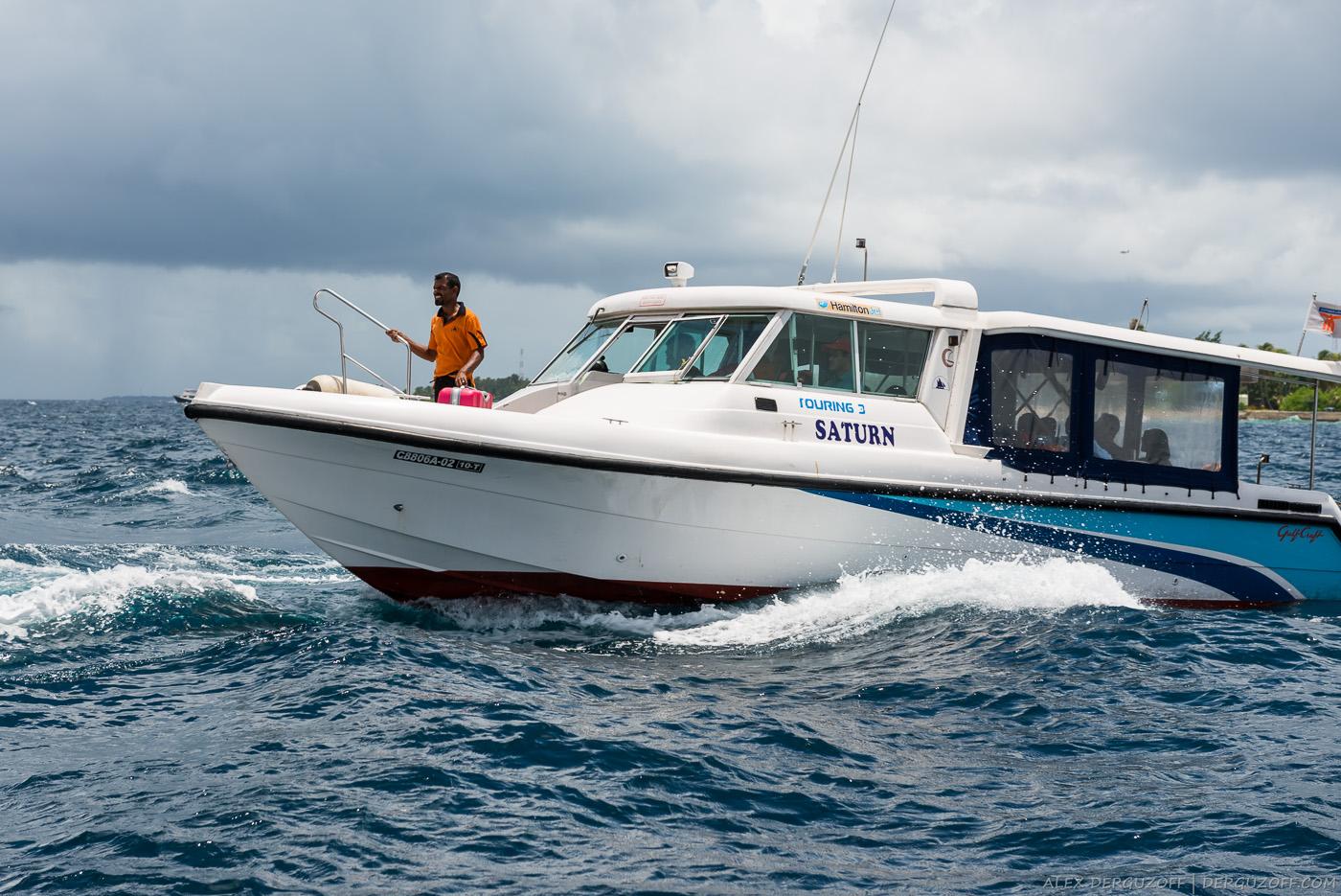 Лодка Мальдивы Маафуши