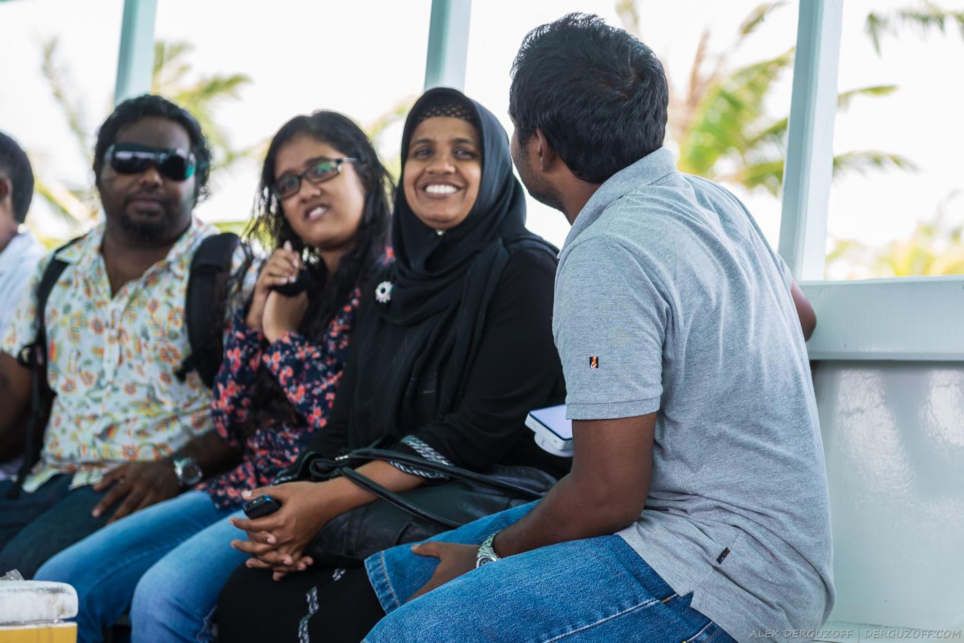 Жители Мальдив