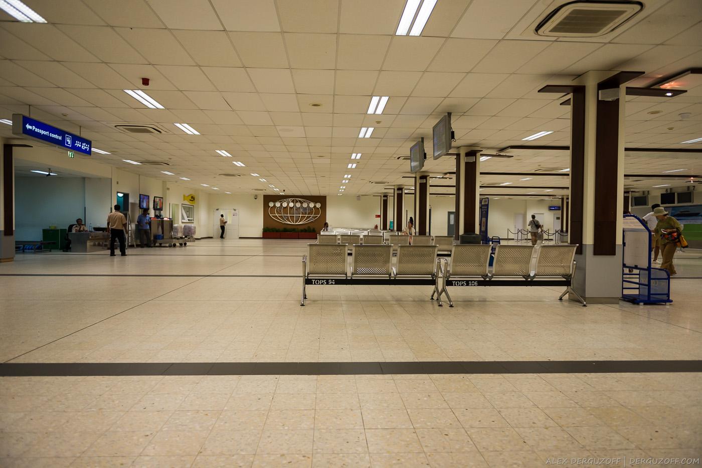 Аэропорт Мале Мальдивы