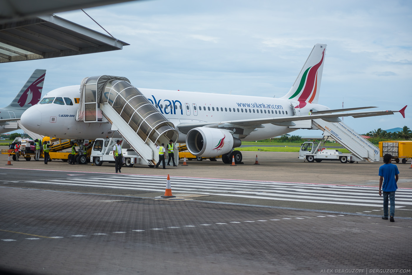 Самолет SriLankan Airlines
