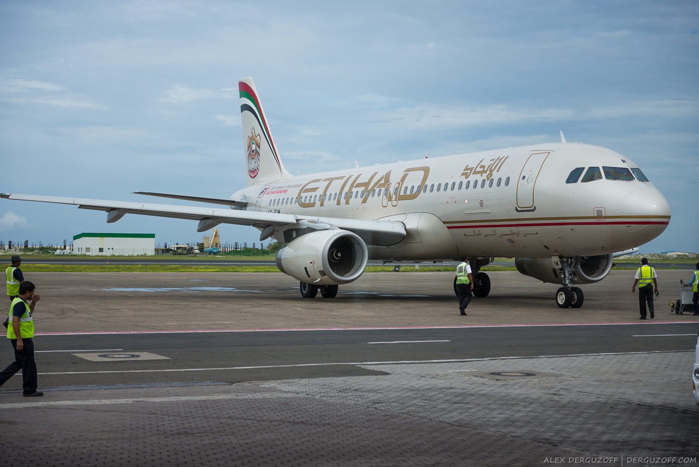 Самолет Etihad Airways