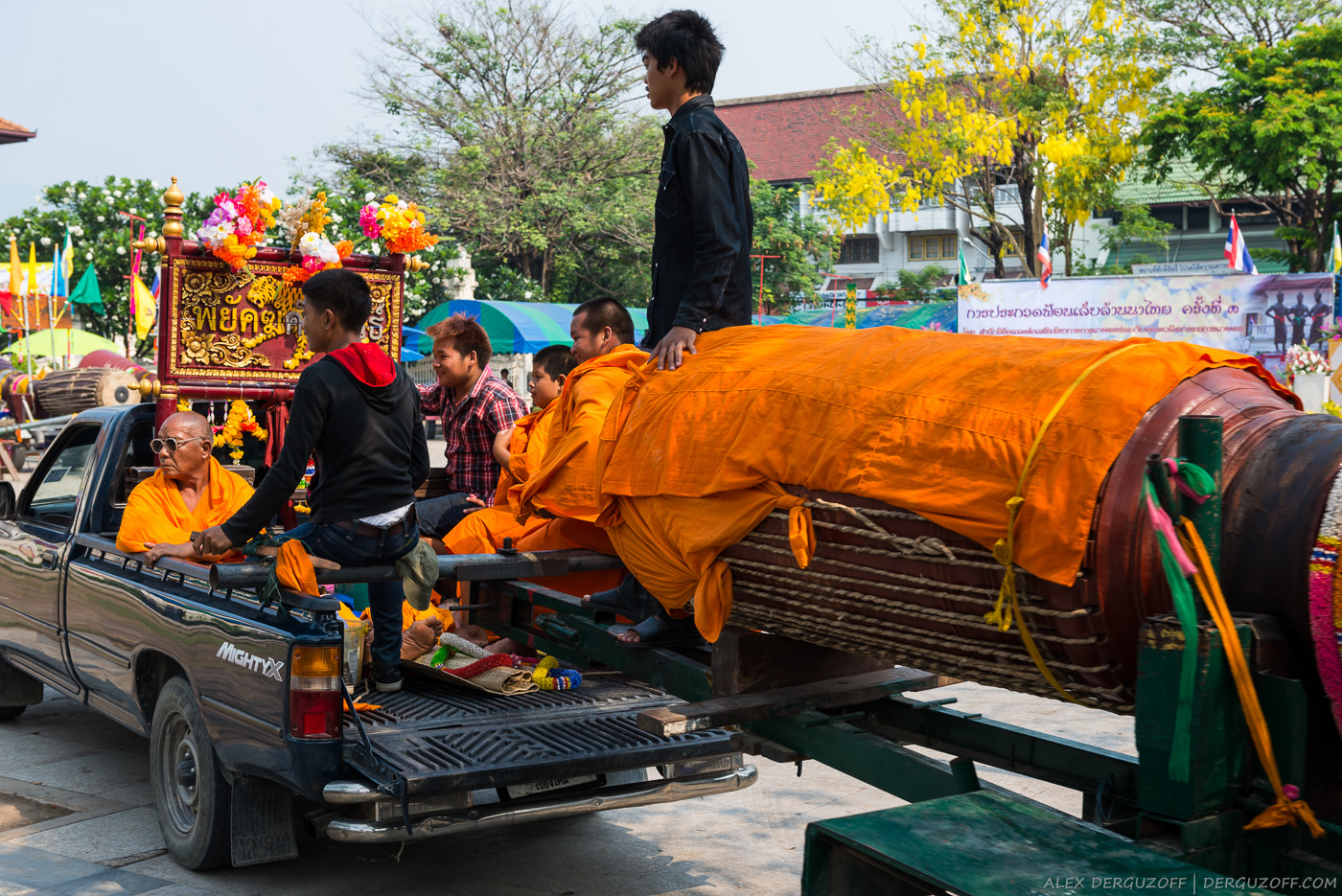 Перевозка барабана Таиланд