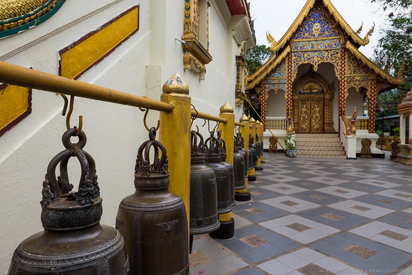 Колокола Ват Прахат Дой Сутхеп