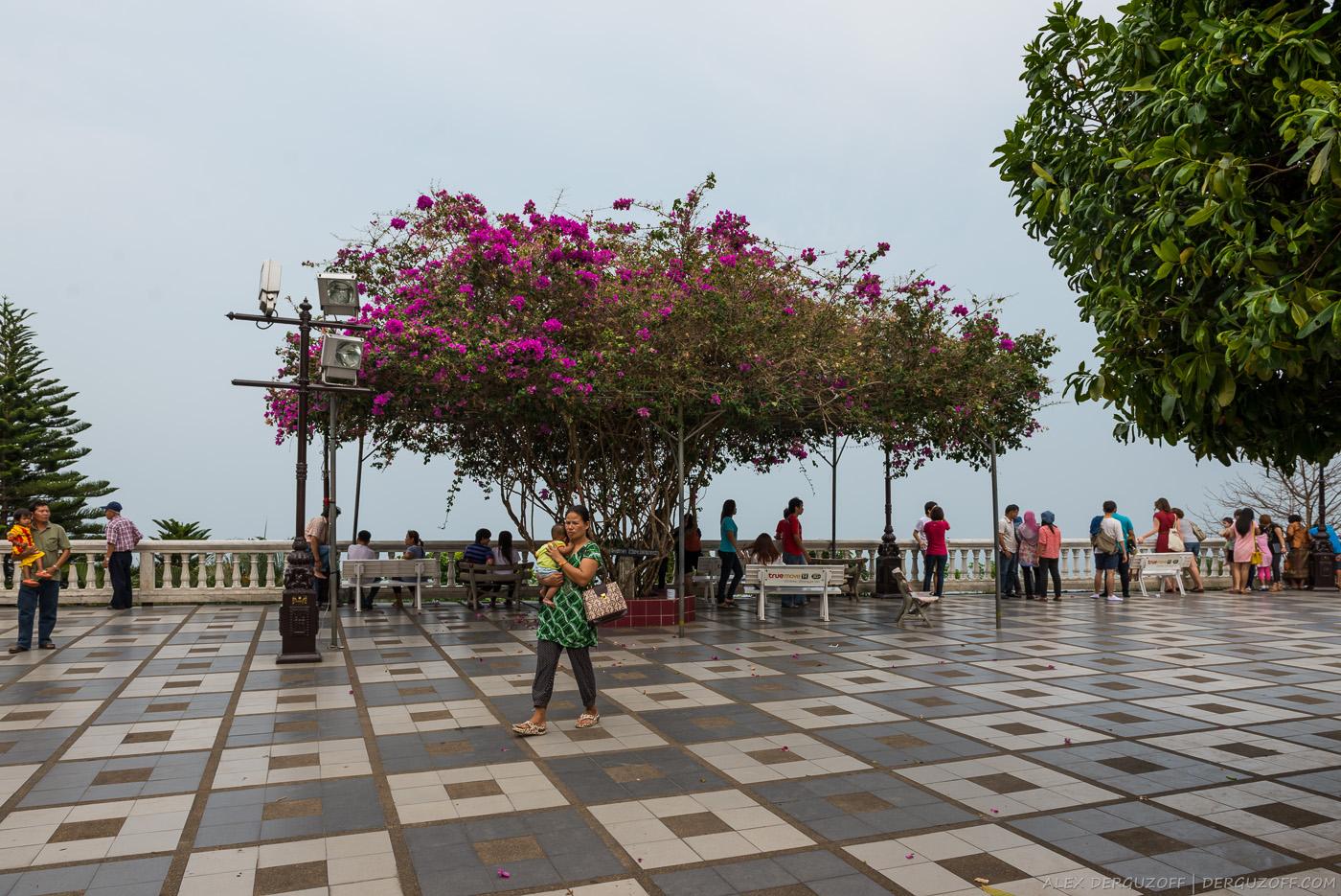 Обзорная площадка Ват Прахат Дой Сутхеп