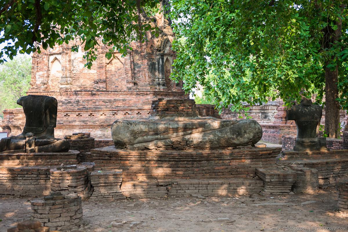 Остатки статуи Будды Таиланд Аюттхая