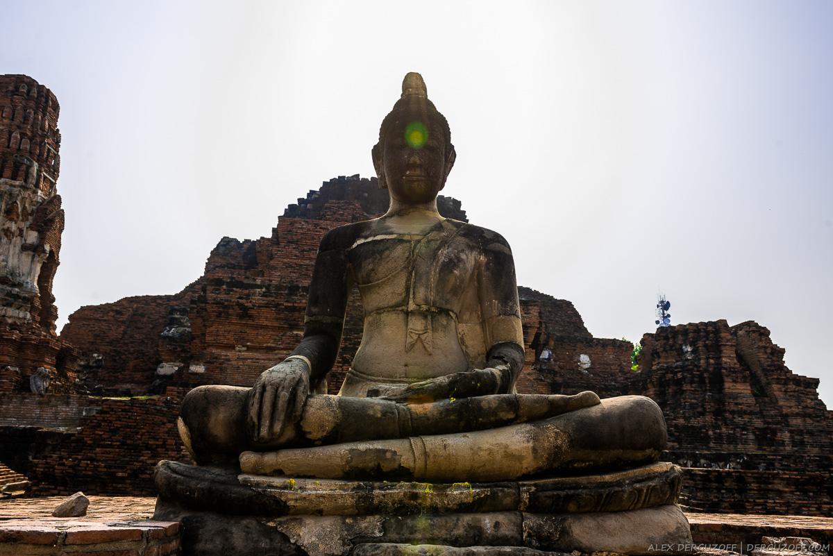 Статуя Будды Таиланд Аюттхая