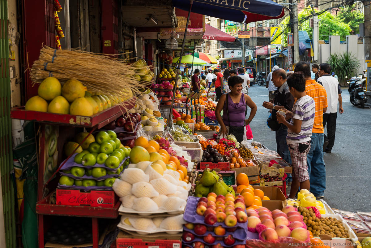 Продавцы фруктов Филиппины