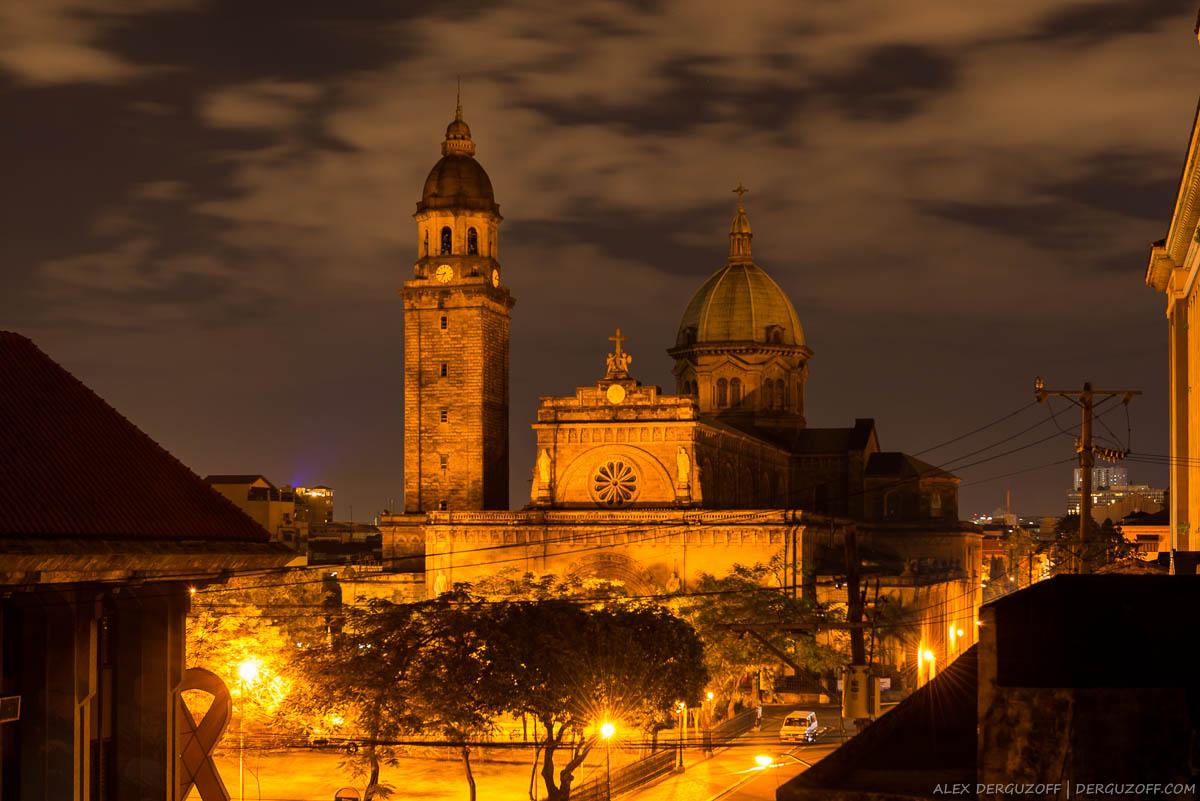 Малая базилика Непорочного Зачатия Филиппины Манила