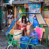 Филиппины Манила: Подвиньтесь! Подвиньтесь!