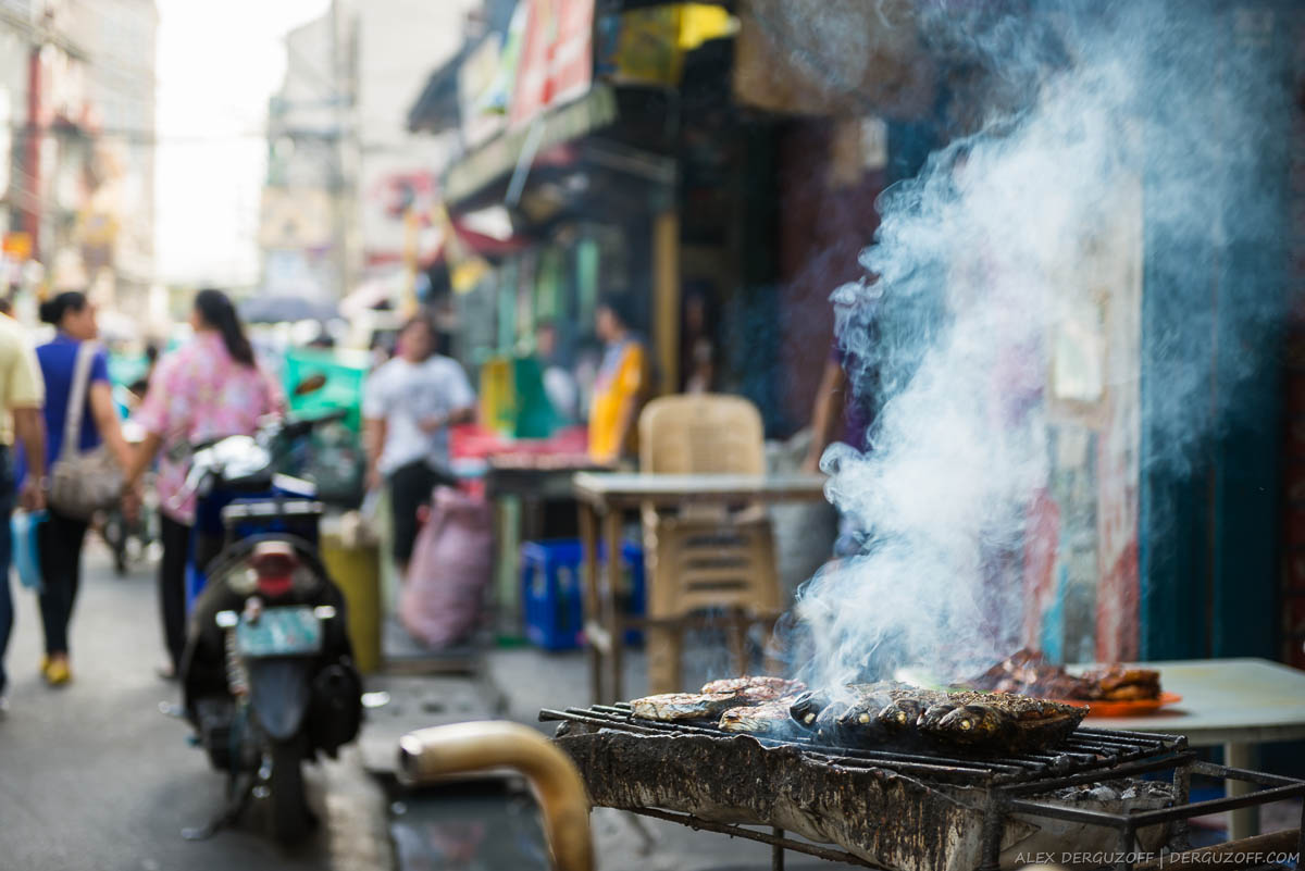 Дым над мангалом Манила Филиппины