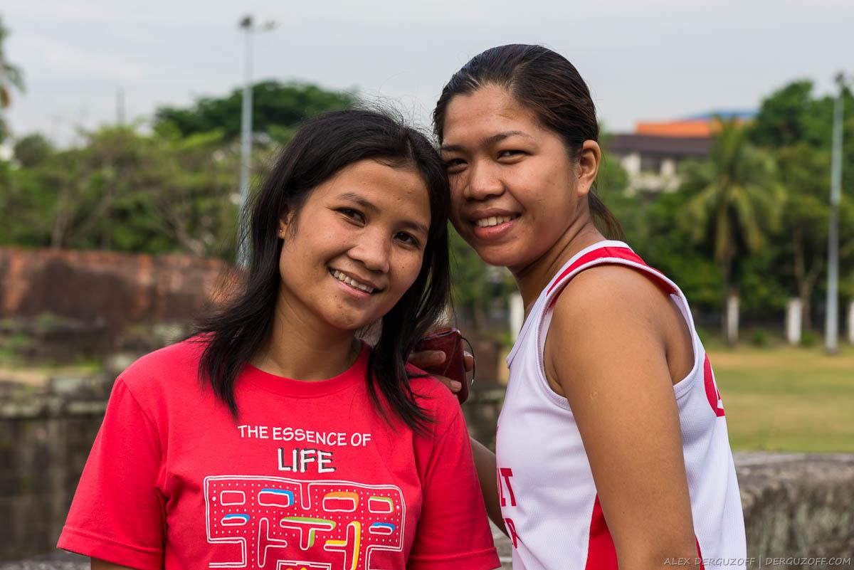 Девушки-филиппинки Манила