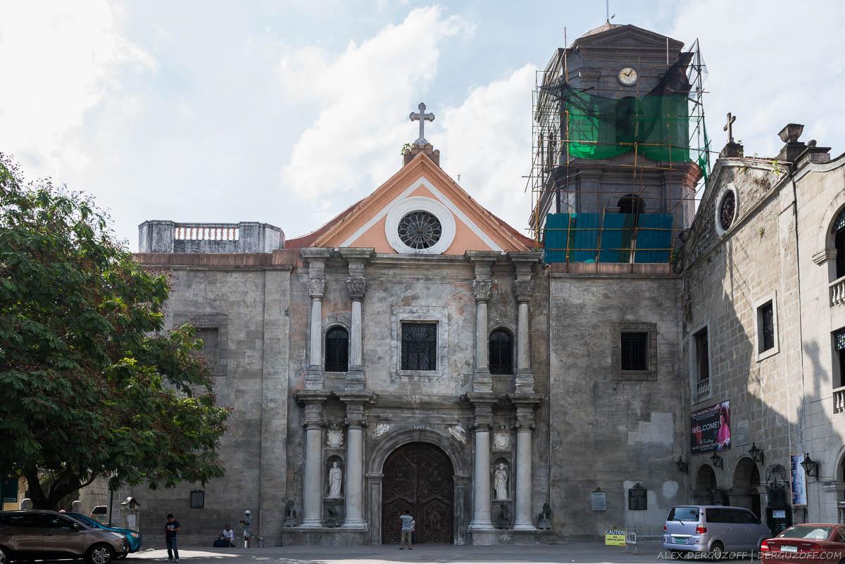 Собор Святого Августина Филиппины Манила