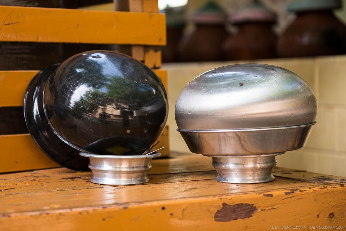 Монашеские чаши для подаяний
