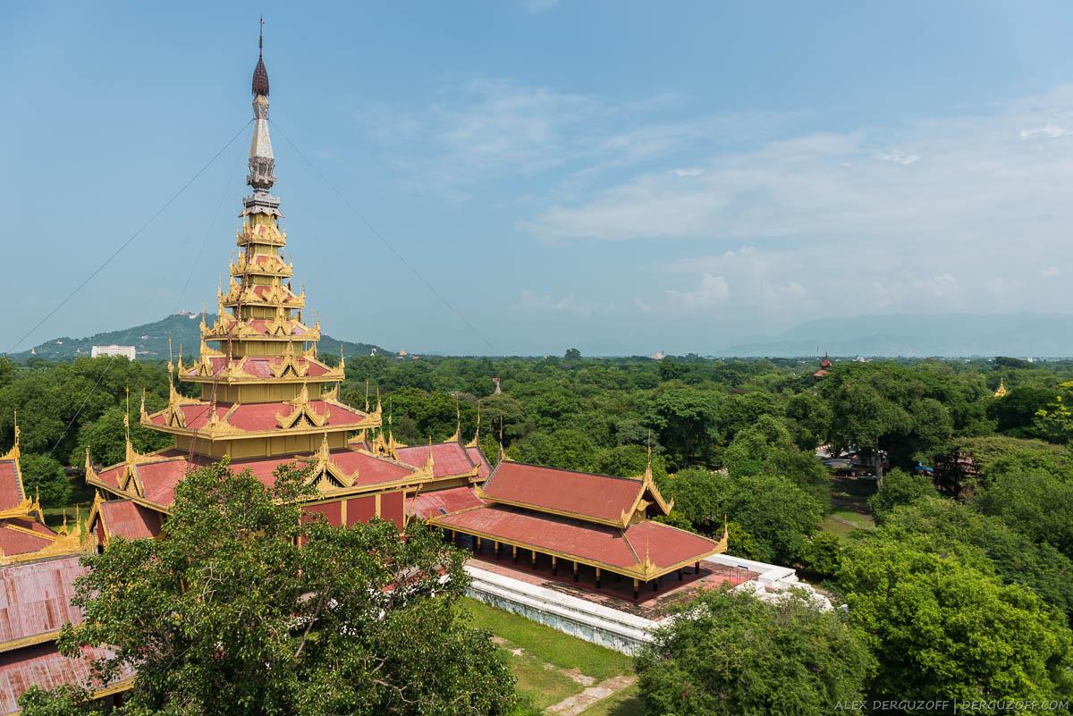 Дворец бывшего короля и холм Мандалай
