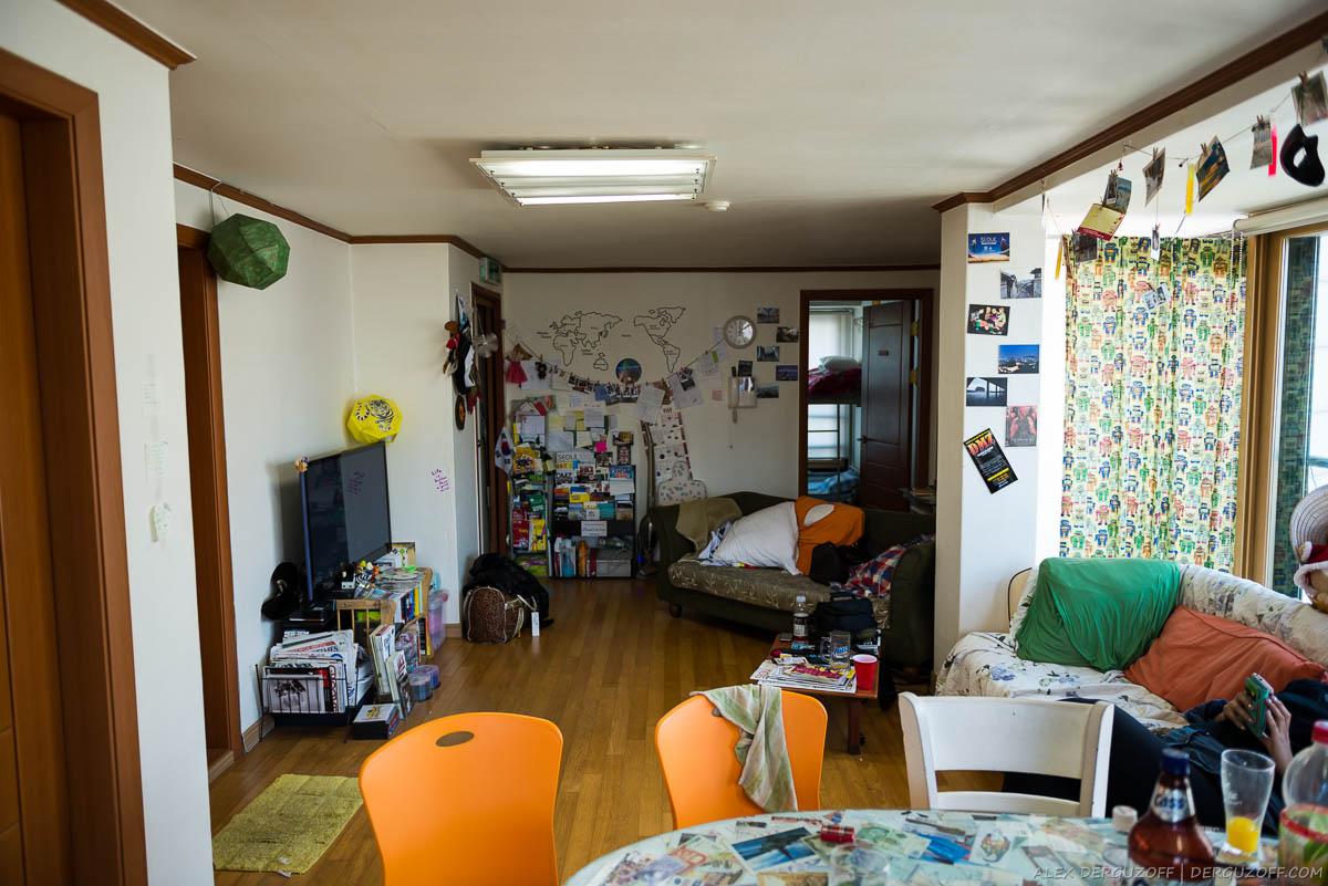 Гостевая комната хостела Jin Paradise