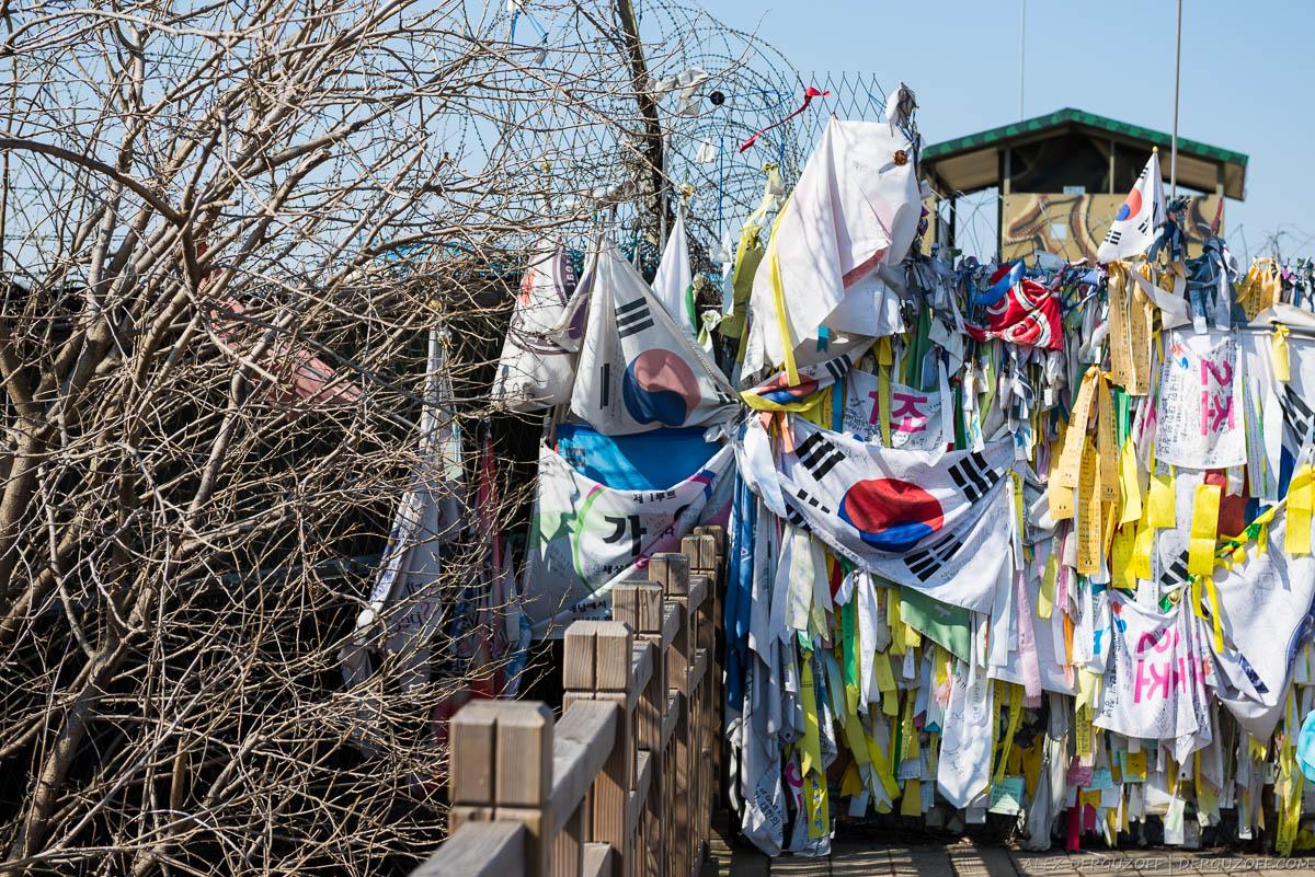 Флаги в демилитаризованной зоне