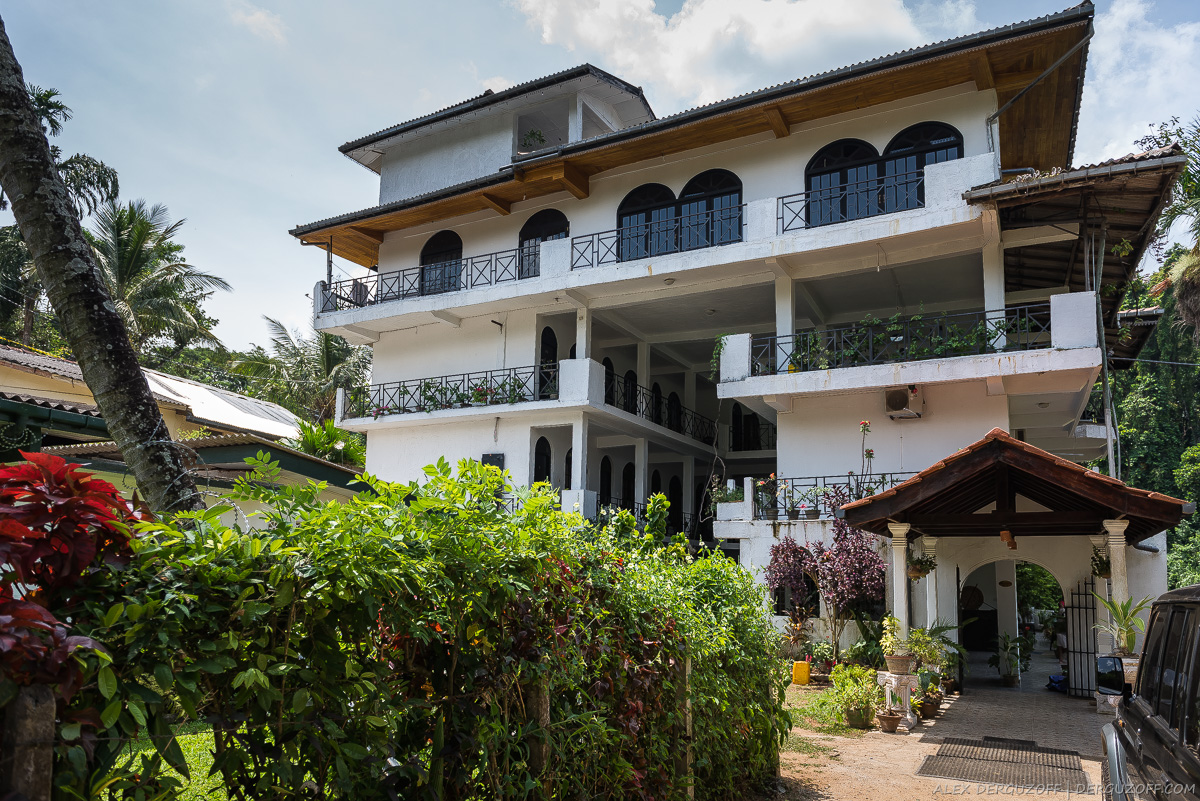 Здание частной гостиницы в Канди