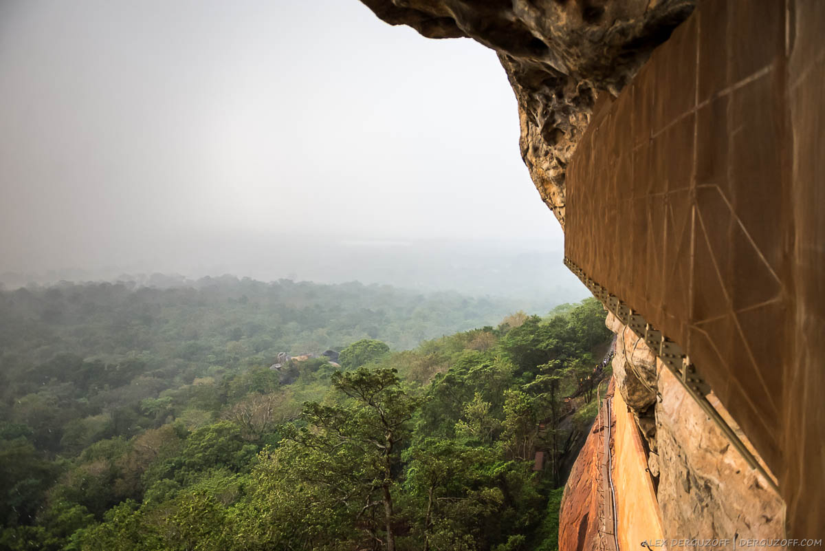Дорога по серпантину Шри-Ланка Сигирия