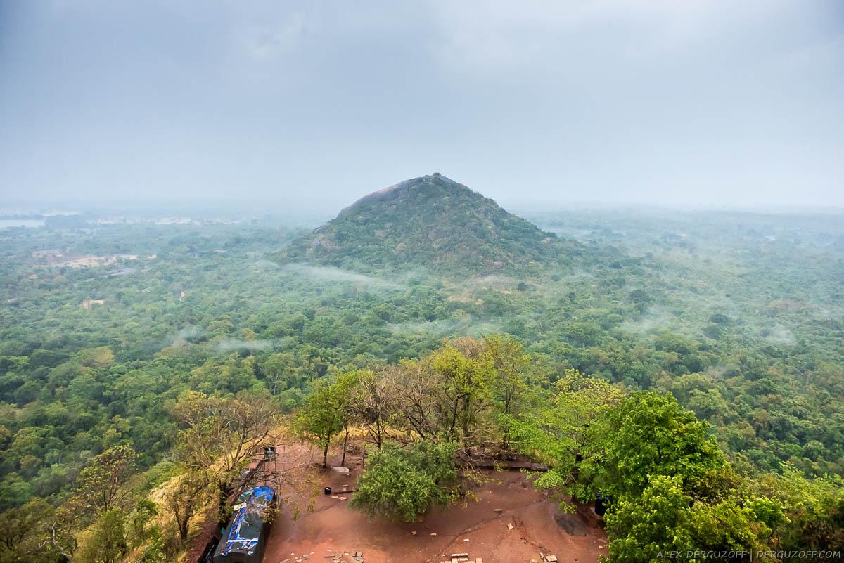 Туман над джунглями Шри-Ланка