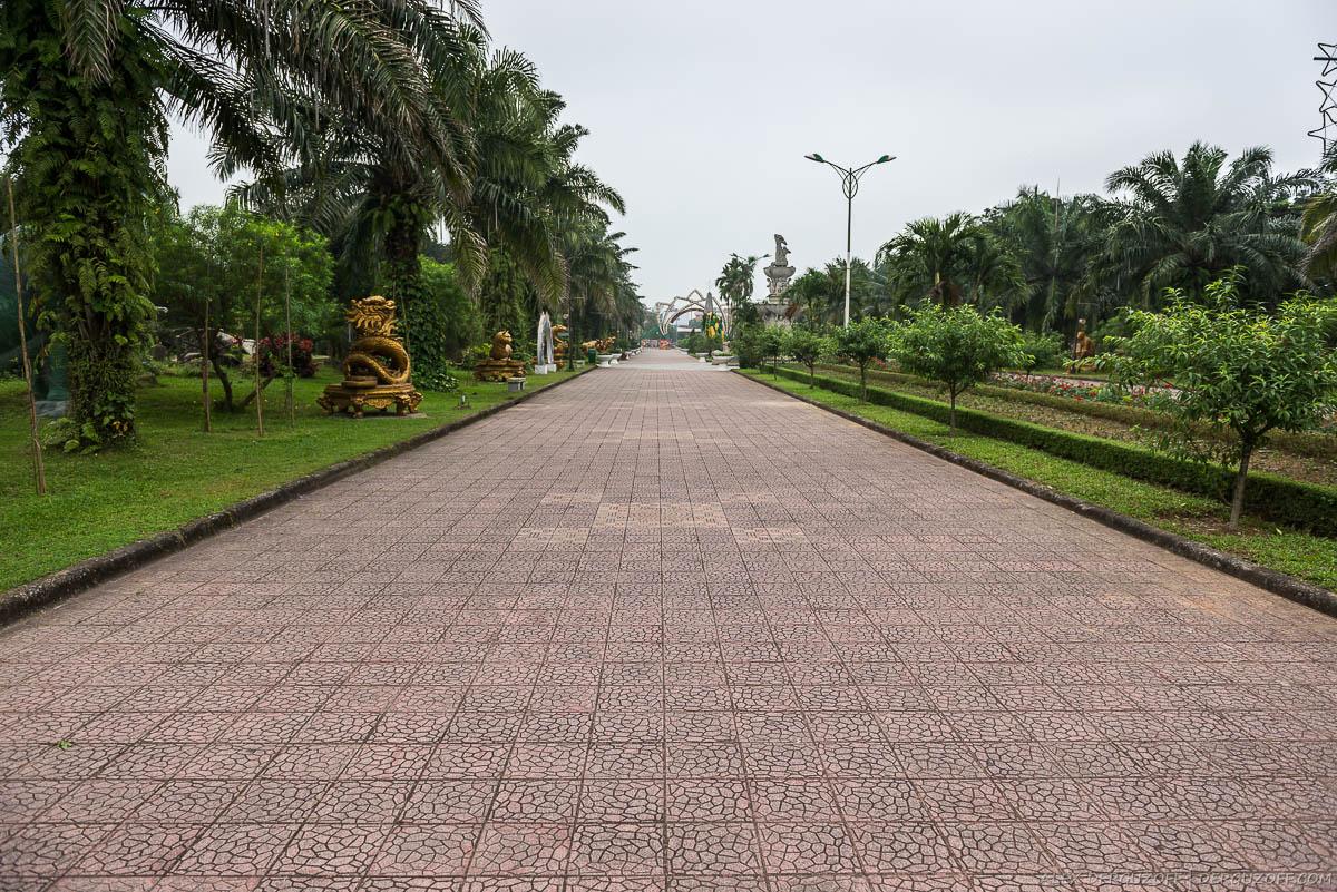 Парковые дорожки Вьетнам Винь