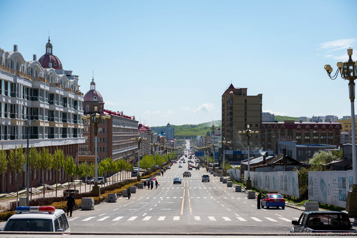 Главная улица Фуюаня