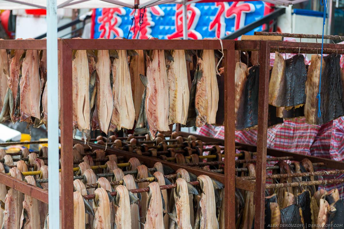 Копченая рыба Китай Фуюань