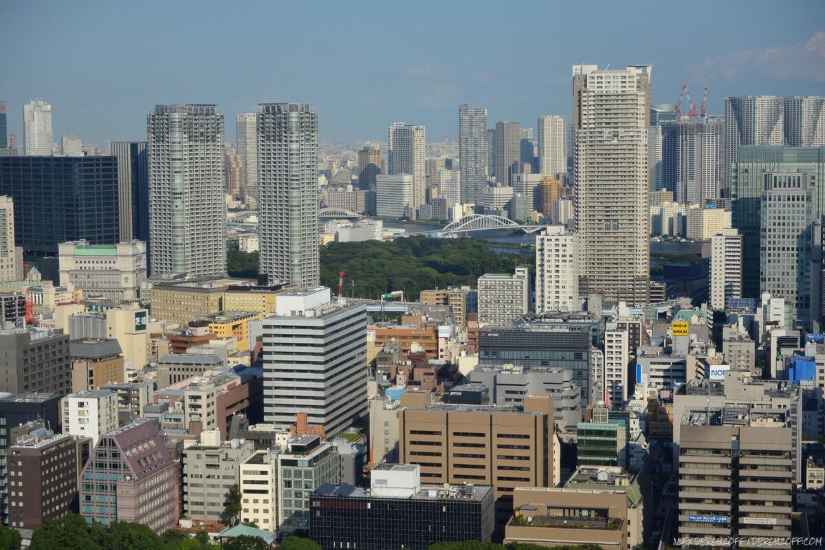 Городская застройка Токийская телебашня