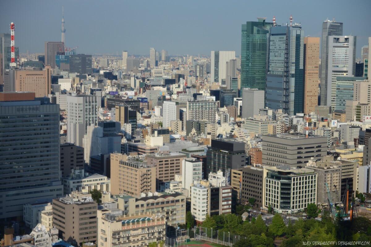Небоскребы Токио Япония