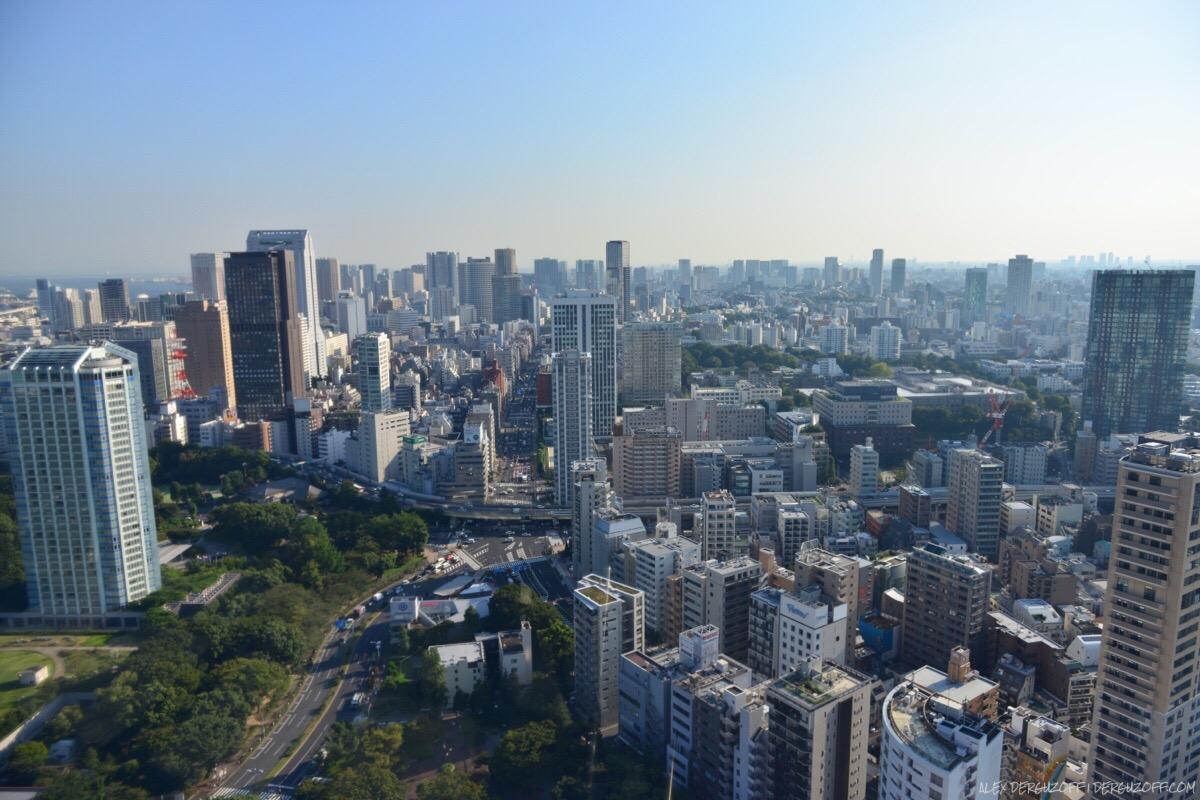 Городской пейзаж Токийская телебашня