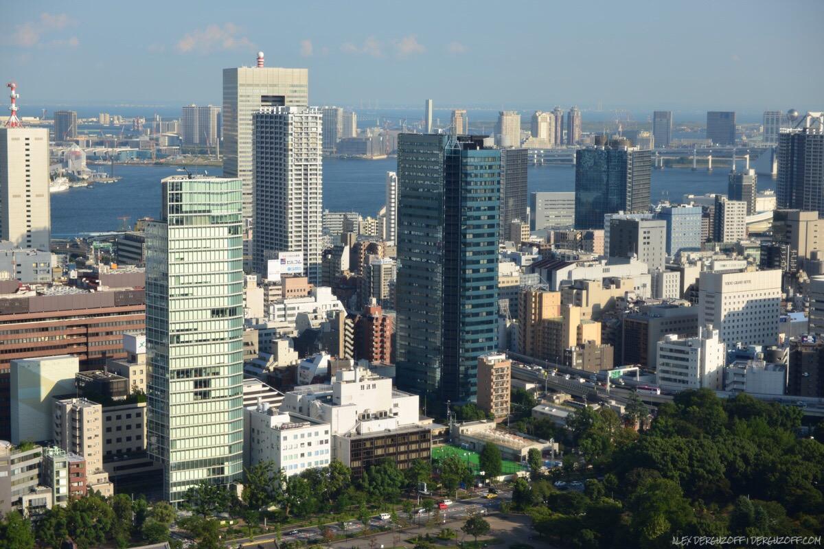 Панорама Токио с телебашни